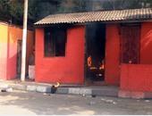حريق كشك - أرشيفية