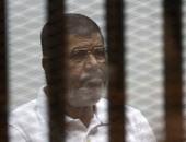 جانب من محاكمة محمد مرسى بأحداث الاتحادية