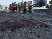 جانب من التفجيرين فى كابول
