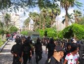 أحداث عنف جامعة المنصورة