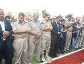 جنازة عسكرية لجثمان شهيد المنوفية