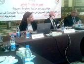 الدكتور شعبان عبد الجيد خلال المؤتمر