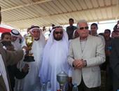 محافظ جنوب سيناء ورئيس الاتحاد العربى للهجن