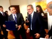 خلال زيارة وزير الصناعة والتجارة لـ كازاخستان