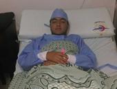 نجل ثروت سويلم بعد إجراء عملية جراحية