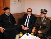 محمود عبد العزيز خلال الاحتفالية