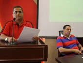 عصام عبد الفتاح ووجية أحمد