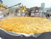 الطهاة يصنعوا أكبر فطيرة قرع فى العالم