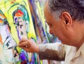 الفنان إبراهيم الطنبولى