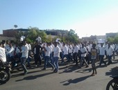 جانب من مظاهرات الطلاب