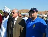 ياسر إدريس مع محافظ شرم الشيخ