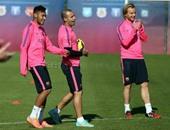 فريق برشلونة الإسبانى