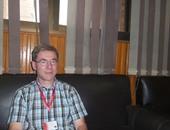 البروفوسير هانس جيور بريتنجر أستاذ الكيمياء الحيوية بالجامعة الألمانية بالقاهرة