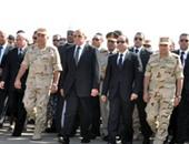الرئيس السيسى - يتقدم تشييع الجنازة