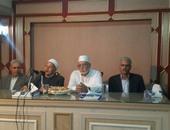 الشيخ محمود عاشور عضو مجمع البحوث الإسلامية أثناء الكلمة