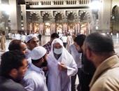 الشيخ محمد حسان بالحرم