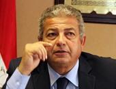 خالد عبد العزيز وزير الشباب والرياضة