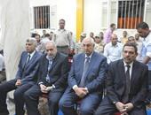 محافظ كفر الشيخ ومدير الأمن فى عزاء شهيد سيناء