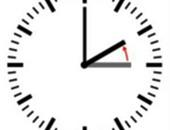 تم إرجاع عقارب الساعة ساعة واحدة فى تمام الساعة 3:00 صباحا
