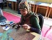 ريهام السنباطى تستخدم ريشتها وعدستها الخاصة لتغير الواقع بالفن