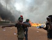مظاهرات بوركينا فاسو