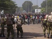 جانب من مظاهرات بوركينا فاسو