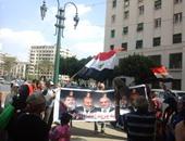 مواطنون يحتشدون فى ميدان التحرير لدعم الجيش ضد الإرهاب