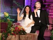 ألين دى جينيريز تتزوج جورج كلونى بسبب الهالوين