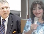 الإعلامية شيرين الدسوقى ورئيس جهاز حماية المستهلك