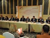 الدكتور محمد عبد الجواد نقيب الصيادلة أثناء المؤتمر