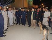 مدير الأمن يتابع التمركزات الأمنية