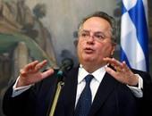 نيكوس كوتزياس وزير الخارجية اليونانى