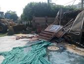 حملة محافظة القاهرة بجميع الأحياء لمواجهة مافيا الكافيهات المخالفة