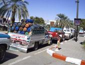 اسطوانات الغاز - أرشيفية