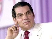 زين العابدين بن على رئيس تونس السابق