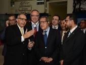 وزير الصناعة فى زيارة موتورز مصر