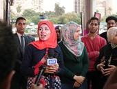 الفنانة التشكيلية ريهام السنباطى تشارك فى الاحتفالية