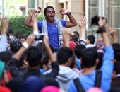 وقفة لطلاب الإخوان بجامعة القاهرة - أرشيفية