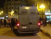 مدرعات وقوات أمن لتمشط الشوارع