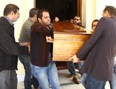 جنازة الروائى الراحل محمد ناجى