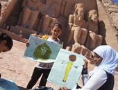 مهرجانات توعية للآثار الفرعونية لطلاب المدارس