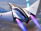 شكل سيارات السباق الطائرة