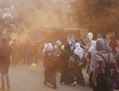 تظاهر طالبات الإخوان بالأزهر – أرشيفية