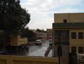جانب من الأمطار