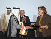 إبراهيم محلب رئيس الوزراء أثناء المؤتمر