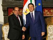 الرئيس عبد الفتاح السيسى فى إيطاليا