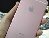 هاتف آى فون 6 بلس باللون الوردى