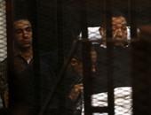 مبارك فى جلسة الحكم ببراءته ـ أرشيفية