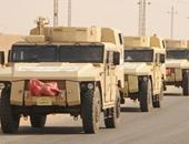 قوات  جيش فى سيناء