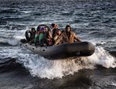 قارب يقل مهاجرين - صورة أرشيفية